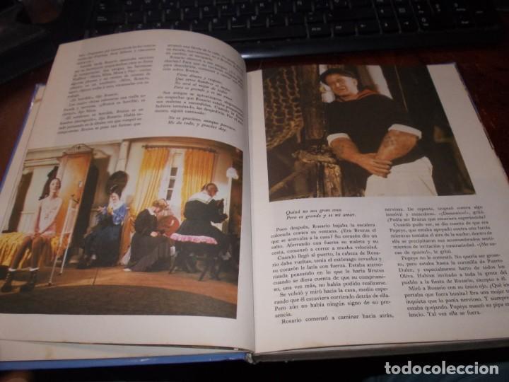 Libros de segunda mano: Popeye el libro de la película. Diafora 1ª ed. diciembre 1.981, interior con varios escritos a bolig - Foto 7 - 194229056