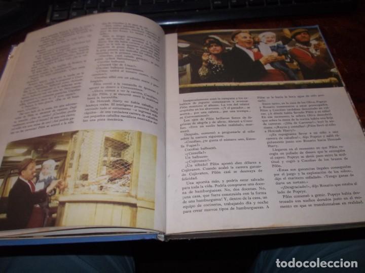 Libros de segunda mano: Popeye el libro de la película. Diafora 1ª ed. diciembre 1.981, interior con varios escritos a bolig - Foto 8 - 194229056