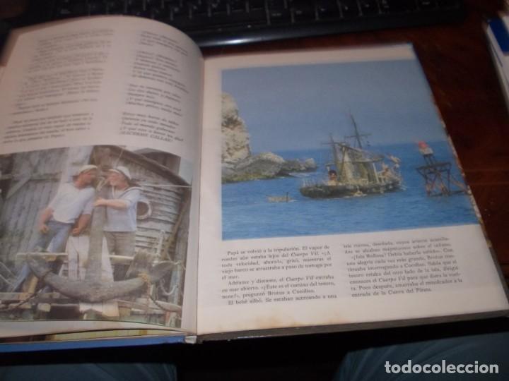 Libros de segunda mano: Popeye el libro de la película. Diafora 1ª ed. diciembre 1.981, interior con varios escritos a bolig - Foto 9 - 194229056