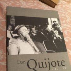 Libros de segunda mano: DON QUIJOTE Y EL CINE EXPOSICIÓN FILMOTECA 2005. Lote 194317215