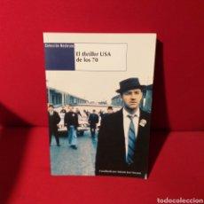 Libros de segunda mano: EL THRILLER USA DE LOS 70 - ANTONIO JOSÉ NAVARRO - COLECCIÓN NOSFERATU. Lote 194346615