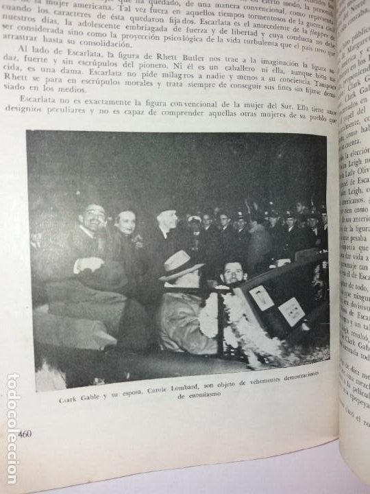 Libros de segunda mano: LEGENDARIA LO QUE EL VIENTO SE LLEVO 32 LAMINAS METRO GOLDWYNG MAYER MAS DE 70 AÑOS - Foto 30 - 212072450