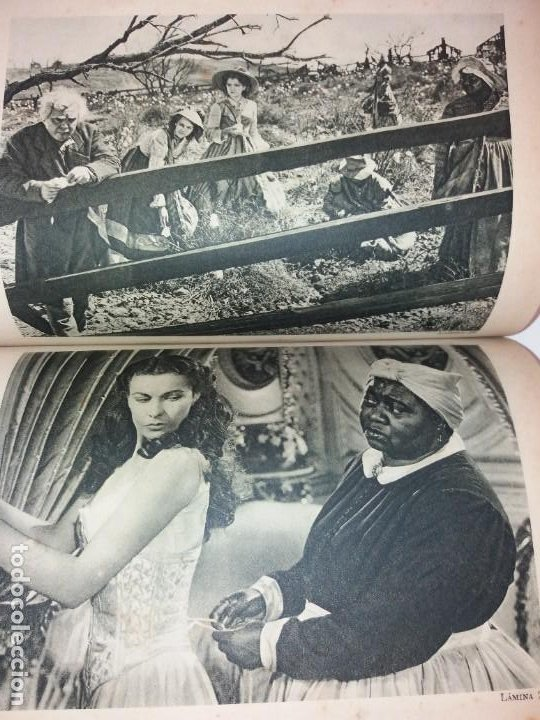 Libros de segunda mano: LEGENDARIA LO QUE EL VIENTO SE LLEVO 32 LAMINAS METRO GOLDWYNG MAYER MAS DE 70 AÑOS - Foto 16 - 212072450