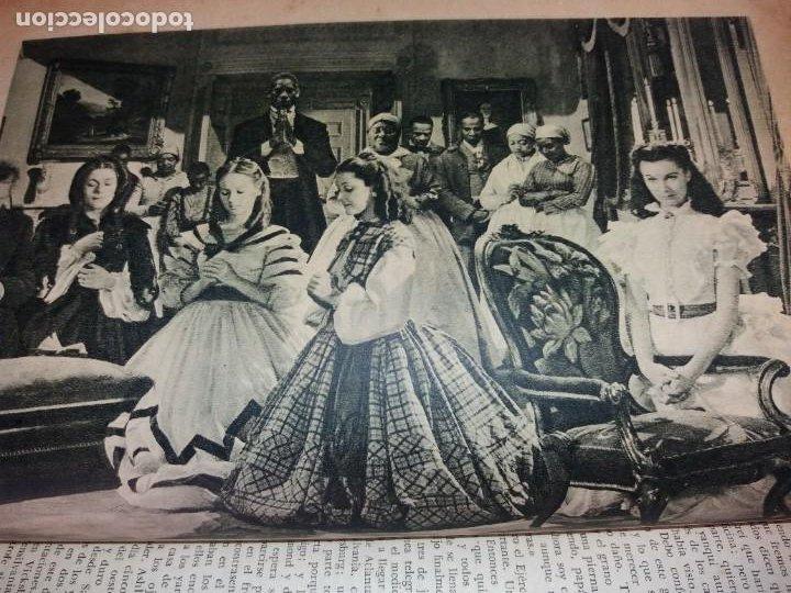 Libros de segunda mano: LEGENDARIA LO QUE EL VIENTO SE LLEVO 32 LAMINAS METRO GOLDWYNG MAYER MAS DE 70 AÑOS - Foto 8 - 212072450