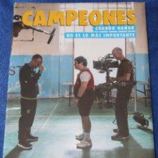 Libros de segunda mano: CAMPEONES - CUANDO GANAR NO ES LO MAS IMPORTANTE - THE GALOBART BOOKS (2019) ¡PRECINTADO!. Lote 194356528