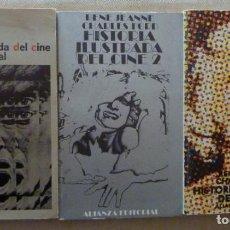 Libros de segunda mano: RENÉ JEANNE. CHARLES FORD. HISTORIA ILUSTRADA DEL CINE. 3 TOMOS. ALIANZA EDITORIAL.. Lote 194364805