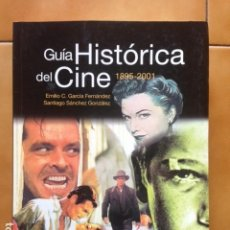 Libros de segunda mano: GUÍA HISTÓRICA DEL CINE AÑO 2002 CONTIENE 594 PÁGINAS 1895 - 2001 DE LOS PREMIOS Y LOS OSCAR. Lote 194518998