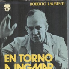 Libros de segunda mano: EN TORNO A INGMAR BERGMAN DE ROBERTO LAURENTI. Lote 194607957