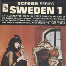 Libros de segunda mano: SWEDEN 1. SCREEN SERIES. Lote 194608622