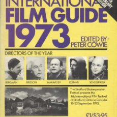Libros de segunda mano: INTERNATIONAL FILM GUIDE 1973. Lote 194608901
