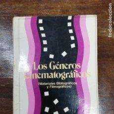 Libros de segunda mano: LOS GÉNEROS CINEMATOGRAFICOS. LUIS HUESO MONTÓN.. Lote 194674965