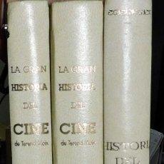 Libros de segunda mano: LA GRAN HISTORIA DEL CINE DE TERENCI MOIX 3 TOMOS ED. ABC. . Lote 194684491