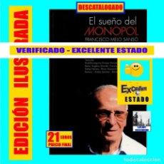 Libros de segunda mano: EL SUEÑO DEL MONOPOL - FRANCISCO MELO SANSÓ - CINE EN CANARIAS - HISTORIA SALAS DE PROYECCIÓN - RARO. Lote 194688987