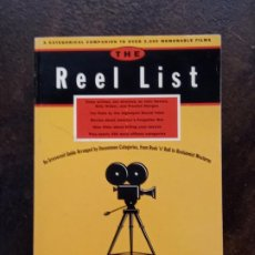 Libros de segunda mano: VV.AA.:THE REEL LIST: A CATEGORICAL COMPANION TO OVER 2,000 MEMORABLE FILMS. Lote 194714796