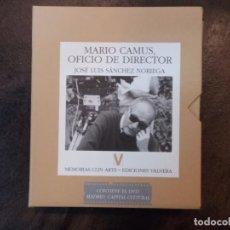 Libros de segunda mano: APUNTES DEL NATURAL + MARIO CAMUS, OFICIO DE DIRECTOR + DVD MADRID, CAPITAL CULTURAL. Lote 194720153