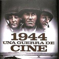 Libros de segunda mano: 1944. UNA GUERRA DE CINE. UNA GUERRA DE CINE - PEDRO MANUEL ALONSO RUIZ - T&B - CINE. Lote 194857515
