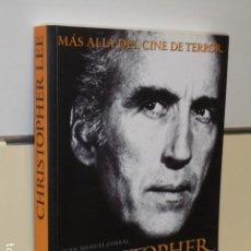 Libros de segunda mano: CHRISTOPHER LEE - MAS ALLA DEL CINE DE TERROR - T&B EDITORES OFERTA. Lote 194860455
