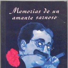 Libros de segunda mano: MEMORIAS DE UN AMANTE SARNOSO. GROUCHO MARX. Lote 194861873