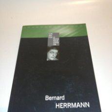 Libros de segunda mano: BERNARD HERRMAN, CUADERNOS FILMOTECA CANARIA . Lote 194905391