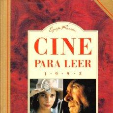 Libros de segunda mano: CINE PARA LEER 1992 - EQUIPO RESEÑA - EDITORIAL MENSAJERO. Lote 194977021