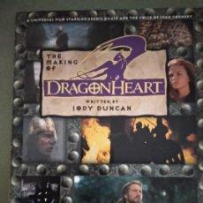 Libros de segunda mano: THE MAKING OF DRAGONHEART JODY DUNCAN. Lote 195043437