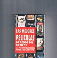 Libros de segunda mano: LAS MEJORES PELICULAS DE TODOS LOS TIEMPOS SONY CIEN AÑOS DE CINE. Lote 195128221