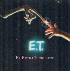 Libros de segunda mano: E T EL EXTRATERRESTRE EL LIBRO DE LA PELICULA CEBRA 1982. Lote 195128461