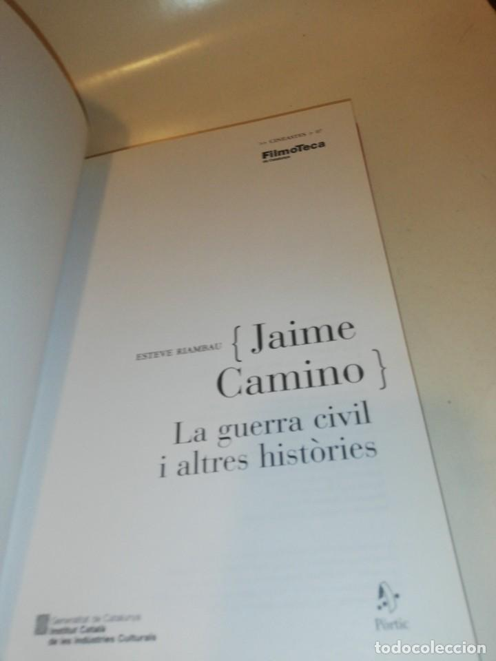 Libros de segunda mano: esteve riambau , jaime camino , la guerra civil i altres histories, catala, castellano ingles - Foto 4 - 195155226