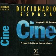 Libros de segunda mano: AUGUSTO M. TORRES. DICCIONARIO ESPASA CINE . 1996. Lote 195160480