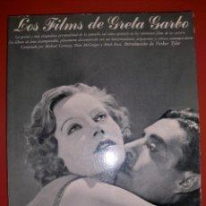 Libros de segunda mano: LOS FILMS DE GRETA GARBO 1º EDICIÓN 1979. Lote 195231862