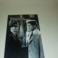 Libros de segunda mano: QUIM CASAS , EXTRAÑOS EN UN TREN / LA PARADA DE LOS MONSTRUOS. Lote 195247823