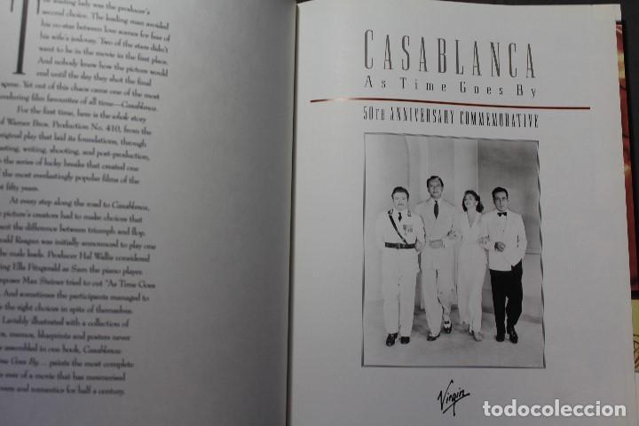 Libros de segunda mano: CASABLANCA. AS TIME GOES BY... 50TH ANNIVERSARY COMMEMORATIVE. FRANK MILLER. TEXTO EN INGLÉS - Foto 2 - 195305788