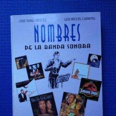 Libros de segunda mano: NOMBRES DE LA BANDA SONORA DICCIONARIO DE COMPOSITORES CINEMATOGRAFICOS. Lote 195318601