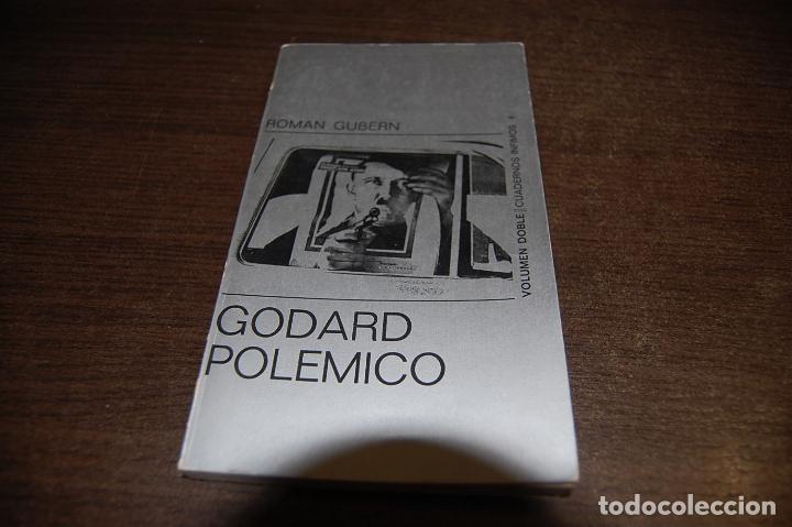 GODARD POLÉMICO. ROMÁN GUBERN (Libros de Segunda Mano - Bellas artes, ocio y coleccionismo - Cine)