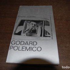 Libros de segunda mano: GODARD POLÉMICO. ROMÁN GUBERN. Lote 195328023