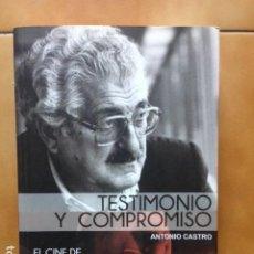 Libros de segunda mano: EL CINE DE JUAN ANTONIO BARDEM : TESTIMONIO Y COMPROMISO POR ANTONIO CASTRO . Lote 195424535