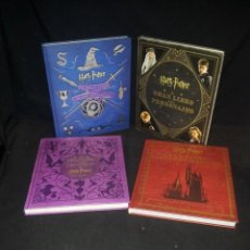 Libros de segunda mano: HARRY POTTER - LOTE, GRAN LIBRO DE LUGARES MAGICOS, LAS CRIATURAS, LOS PERSONAJES Y LOS ARTEFACTOS. Lote 195428166