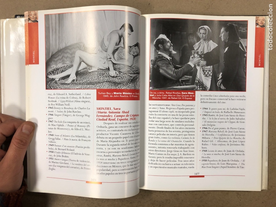 Libros de segunda mano: ENCICLOPEDIA ESPASA DEL CINE TOMO 7. AUGUSTO M. TORRES. DE METRÓPOLIS A PECK - Foto 5 - 195431011