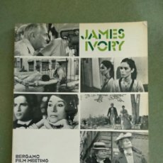 Libros de segunda mano: JAMES IVORY. MARTINI EMANUELA (A CURA DI). PUBLICADO POR S.N. [1985]., [BERGAMO], (1985). Lote 195477208