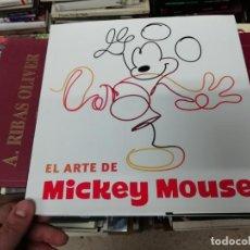 Libros de segunda mano: EL ARTE DE MICKEY MOUSE. EDITORIAL PLANETA. 1ª EDICIÓN 2018 . WALT DISNEY . FILMOGRAFÍA, GALERÍA. Lote 195521937