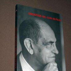 Libros de segunda mano: ESCRITOS DE LUIS BUÑUEL. PRÓLOGO DE JEAN-CLAUDE CARRIÈRE. EDICIÓN MANUEL LÓPEZ VILLEGAS. VER ÍNDICE. Lote 195757643