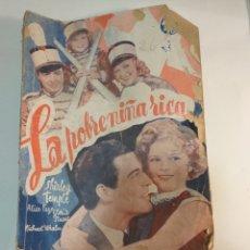 Libros de segunda mano: LIBRO LA POBRE NIÑA RICA DE SHIRLEY TEMPLE 1939. Lote 195918705