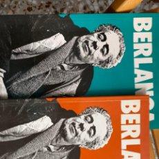 Libros de segunda mano: BERLANGA (2 VOLÚMENES). Lote 196064941
