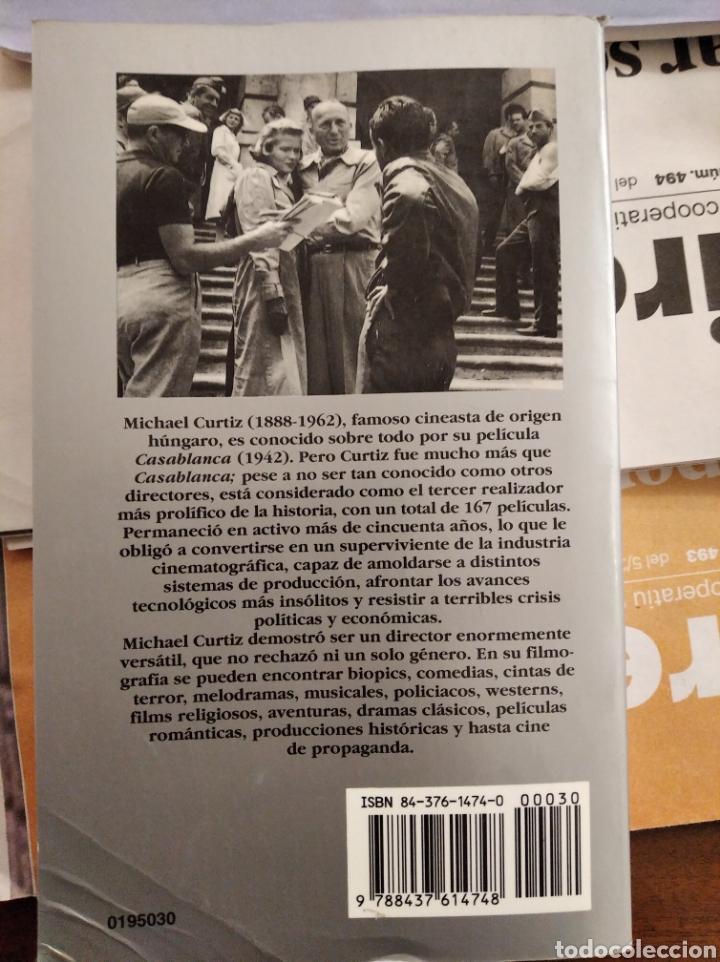 Libros de segunda mano: Libro Michael Curtiz - Foto 2 - 196519370