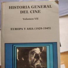 Libros de segunda mano: LIBRO HISTORIA GENERAL DEL CINE VOLUMEN VII. Lote 196520330
