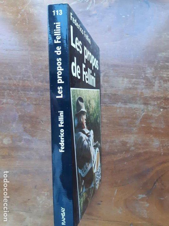 Libros de segunda mano: Les propos de Fellini Federico Fellini - Foto 5 - 196538410
