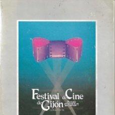 Libros de segunda mano: FESTIVAL DE CINE DE GIJÓN. CATÁLOGO DE LA 24 EDICIÓN. 1986. Lote 197397672