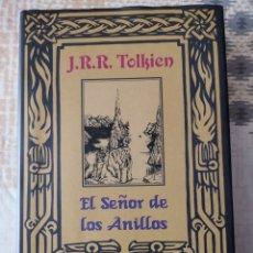 Libros de segunda mano: LIBRO (NUEVO) EL SEÑOR DE LOS ANILLOS, J. R. R. TOLKIEN. 886 PÁGINAS. TIENE LAS 3 PARTES.. Lote 250304480