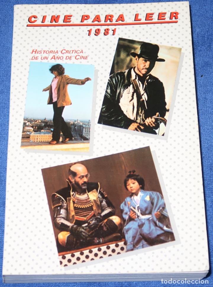 CINE PARA LEER 1981 - EDITORIAL MENSAJERO (1982) (Libros de Segunda Mano - Bellas artes, ocio y coleccionismo - Cine)
