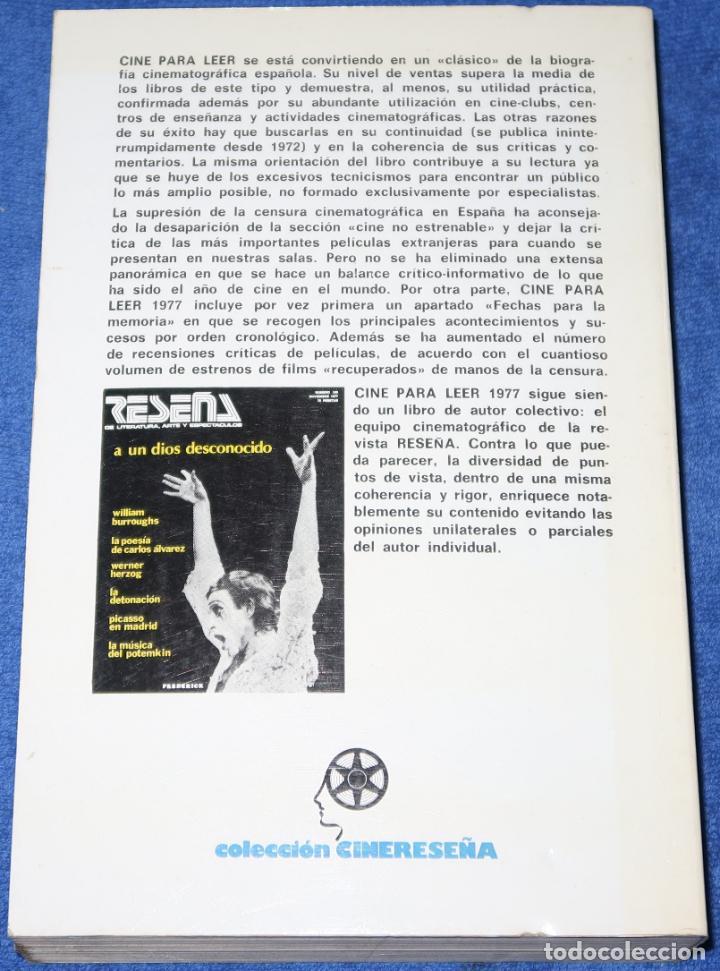 Libros de segunda mano: CINE PARA LEER 1977 - EDITORIAL MENSAJERO (1978) - Foto 2 - 197883012